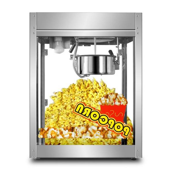 sucre pop corn machine